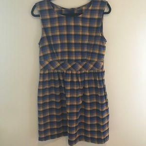 NWT ModCloth plaid dress